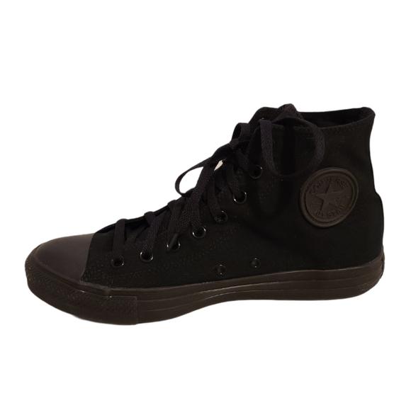 Converse Shoes Black Chuck Taylor High Top Sneaker